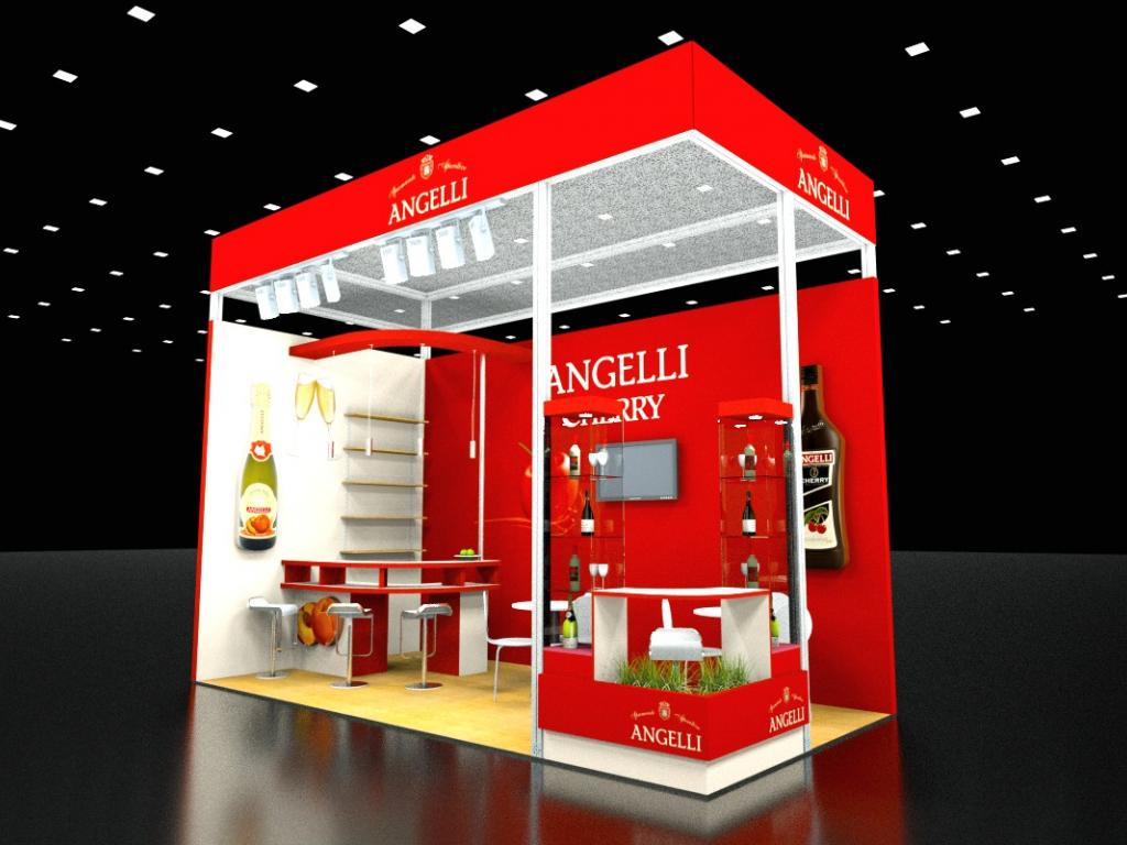 stand expozitional modular
